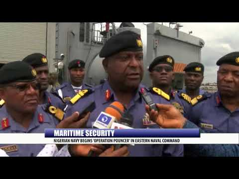MARITIME SECURITY: NIGERIAN NAVY BEGINS 'OPERATION POUNCER' IN  EASTERN NAVAL COMMAND