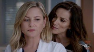 Grey's Anatomy 14x03 Arizona & Carina (Carizona)