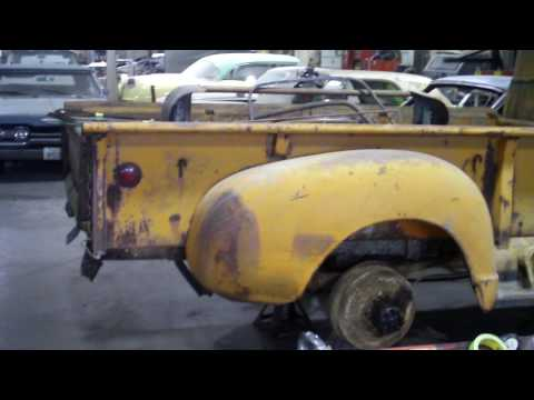 Classic 1949 Chevy 3800 with 9 Foot Bed - Video 1 - Precision Restorations