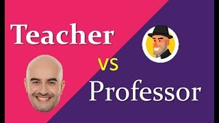 Teacher vs Professor en Inglés ¿cuál usar? #Alejoschallenge