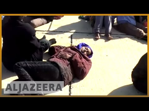 Libya's slave trade - 'They sell Africans over there'