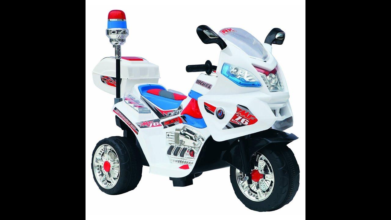 Kids Police Motorcycle V