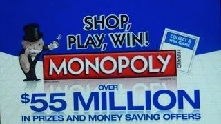 McDonald's Monopoly Game, Jewel's Sweepstakes Game, Advertising/Marketing Methods