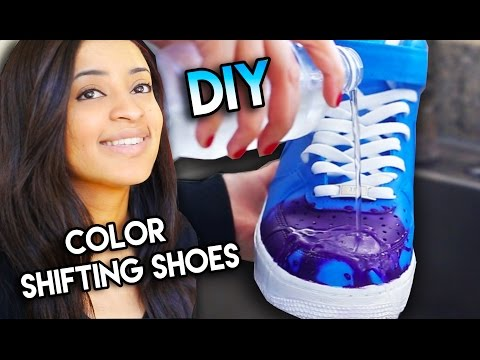 How To: Color Changing Shoes With Water Heat Solar