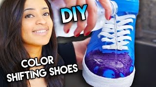 How To Color Changing Shoes With Water Heat Solar