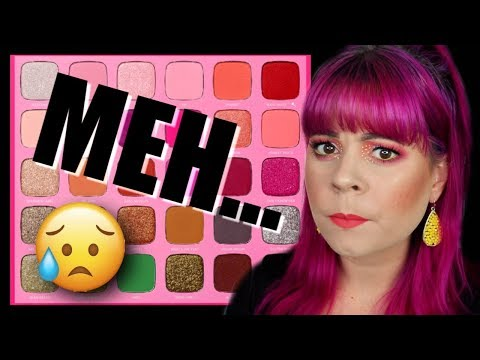 NOT APPROVED? Jeffree Star X Morphe artistry palette honest REVIEW thumbnail