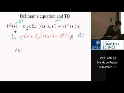 Deep Learning Lecture 16: Reinforcement learning and neuro-dynamic programming
