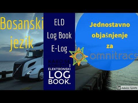 Omnitracs Elektronski Log Book BOSANSKI (Kako se koristi) ELD, E-log