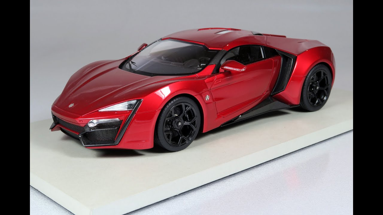 118 lykan hypersport top marques collectibles youtube - W Motors Supersport Limited Edition