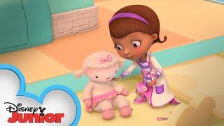 Lambie's Baaad Day 🐑 | Doc McStuffins Baby | Disney Junior