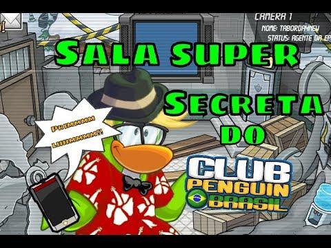 Tutorial De Como Entrar Na Sala Mais Secreta Do Club Penguin Brasil [Taborda4 Oficial]