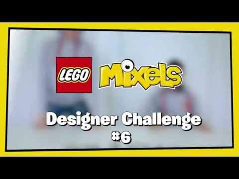 Night Worker Glow Mix - LEGO Mixels - Designer Challenge 6