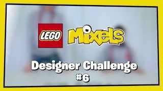 LEGO Mixels #6: Night Worker Glow Mix - Designer Challenge