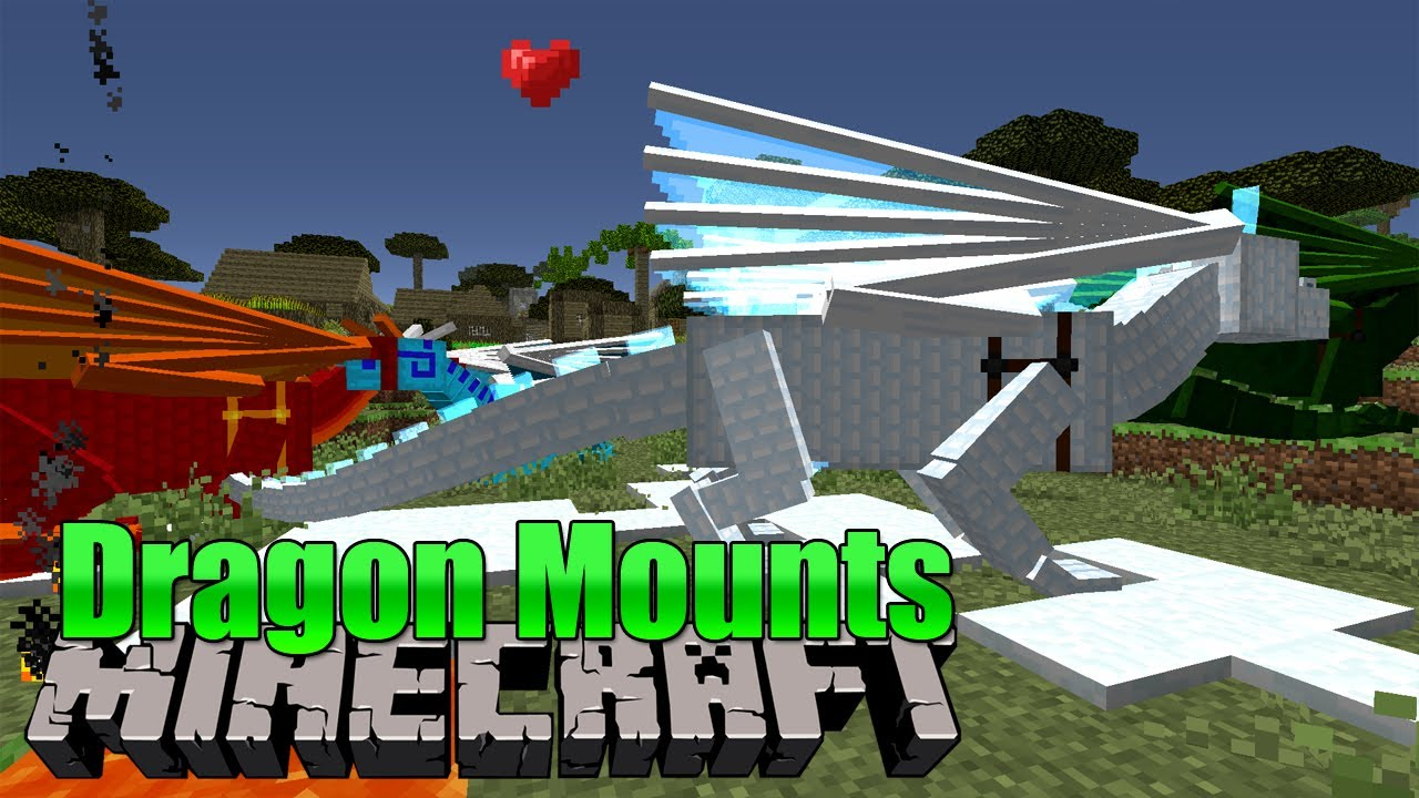 Dragon Mounts Minecraft Mod YouTube - Minecraft dragon spiele