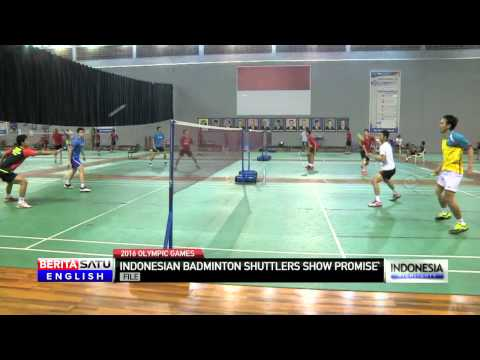 Indonesian Badminton Players Show Promise for 2016 Olympics