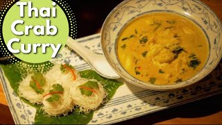 Thai Food Crab Curry recipe