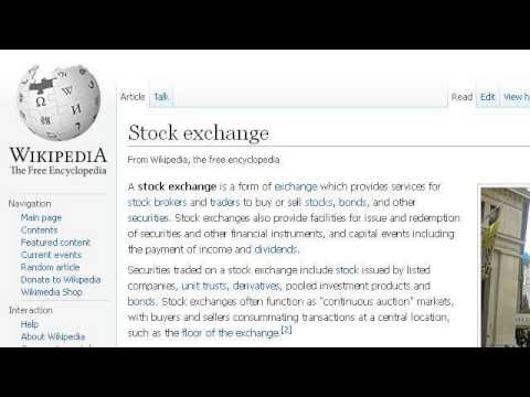 What Is The Post In The Stock Exchange?