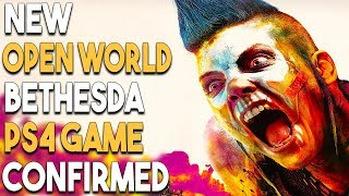 NEW OPEN WORLD Bethesda PS4 Game CONFIRMED and GREAT PlayStation 4 Game Deals!