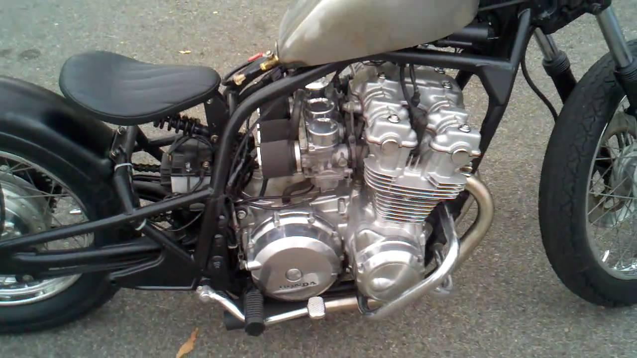redemption cycles 1980 cb750 honda bobber sparto light with rear rh youtube com 1980 Honda CB750 1985 Honda Motorcycle