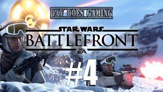 Star Wars: Battlefront - Gameplay Part 4 SplitScreen Battle! (Xbox One)