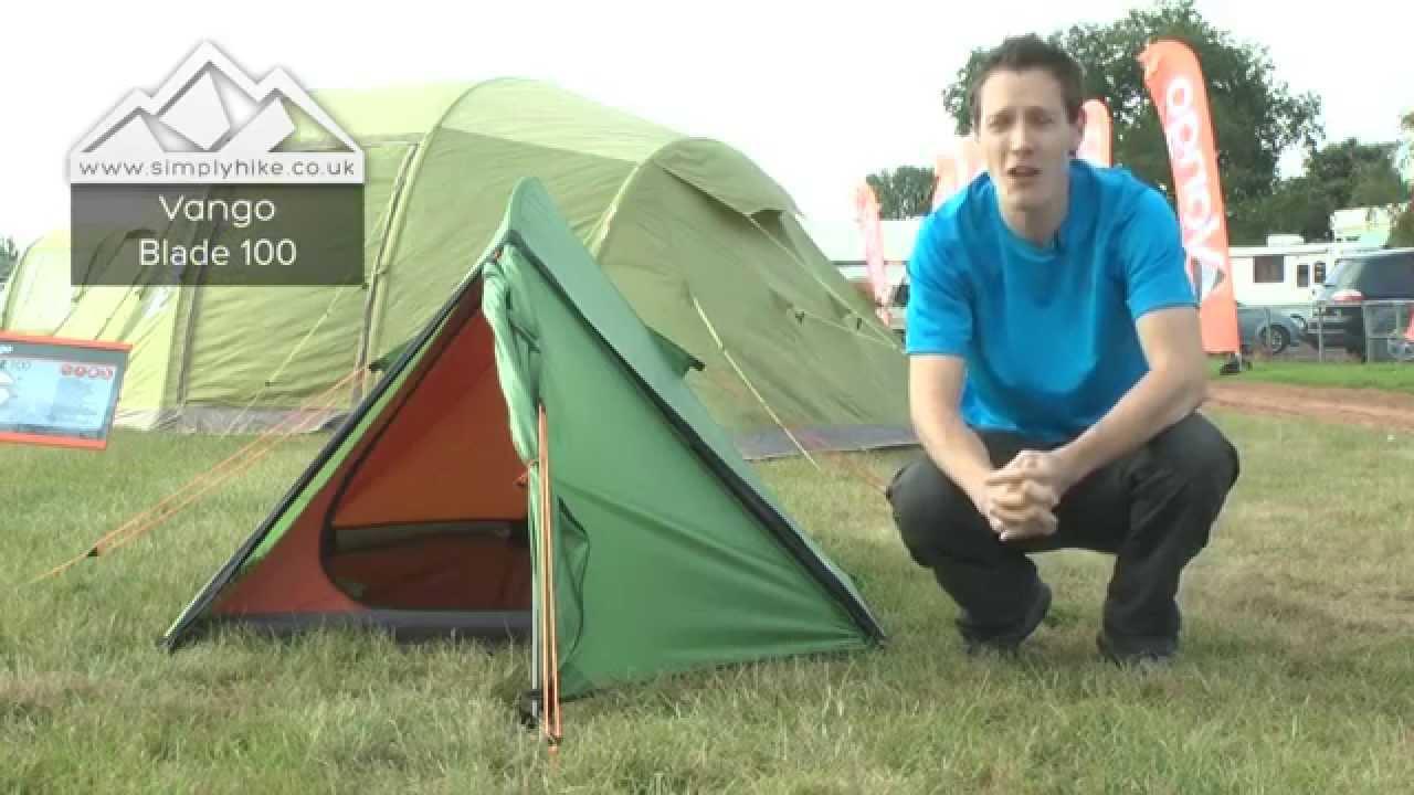sc 1 st  YouTube & Vango Blade 100 Tent - www.simplyhike.co.uk - YouTube