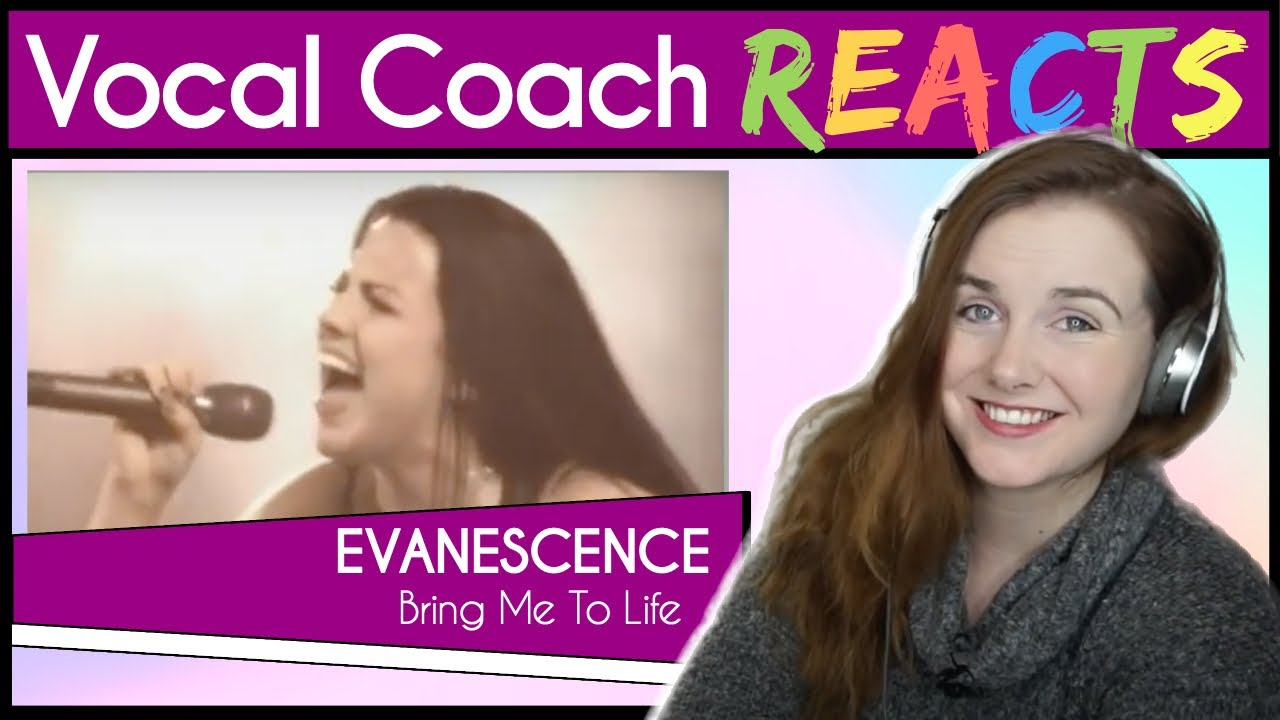 Vocal Coach reacts Evanescence (Amy Lee) - Bring Me To Life Live