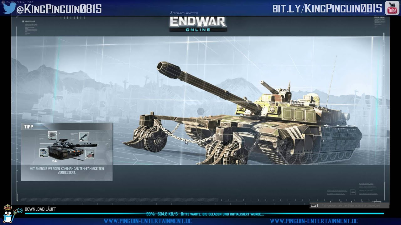 Hd wallpaper 3 tom clancy s endwar online - Let S Play Endwar Online 003 Tom Clancy Deutsch Gameplay Pc