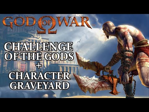 God of War HD - Detonado - PS3 - CHALLENGE OF THE GODS + CHARACTER GRAVEYARD (LEGENDADO)