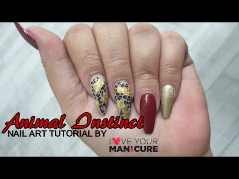 ANIMAL INSTINCT || Nail Art Tutorial || LOVE YOUR MANICURE thumbnail