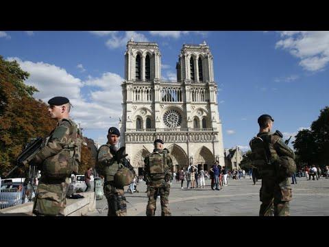 فرنسا: بدء محاكمة 5 فرنسيات بتهمة الشروع في عمل إرهابي ضد كاتدرائية باريس عام  2016