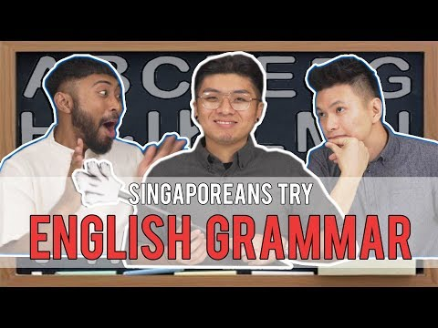 Singaporeans Try: English Grammar Test