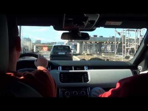 New Range Rover Sport - Media Debut in Bulgaria (Bg Audio)