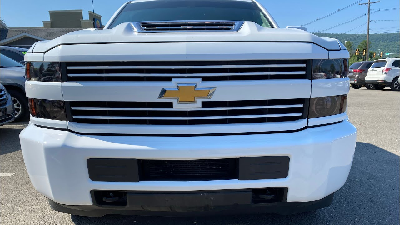 How To Remove 2018 Silverado Front Bumper Trim And Valance Youtube