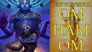 Download OM HARI OM Mantra - Very Powerful Mantra to Remove Suffering ( 1008 Repetitions ) MP3 song and Music Video