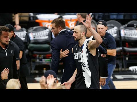 Manu Ginobili RETIRING After Getting Swept by the Warriors?