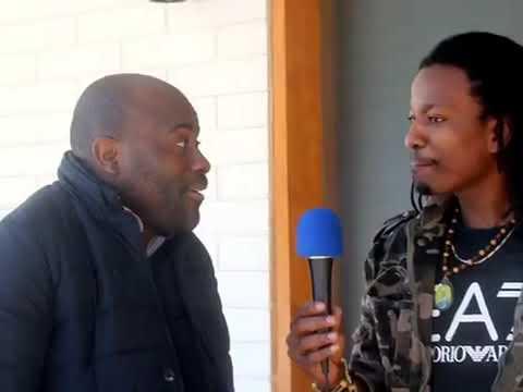 Reaction d'un Congolais au Micro d'Africa Daily UpdateS, NKONGOLO YENGA