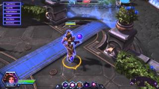 Heroes of the Storm - Li-Ming emotes (clicking voice over)