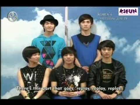 080701 ArirangTV Showbiz Extra K-Pop Zone - SHINee