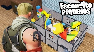 UN SUSCRIPTOR NOS ARRUINA EL ESCONDITE😡😭 - Fortnite Modo Creativo