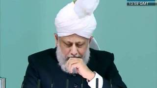 Urdu Friday Sermon 4 November 2011, Blessings of Financial Sacrifice by Ahmadiyya Muslim_clip14.flv