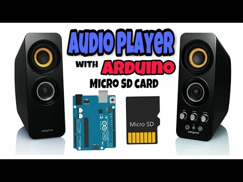 Audio Player using Arduino with micro SD card