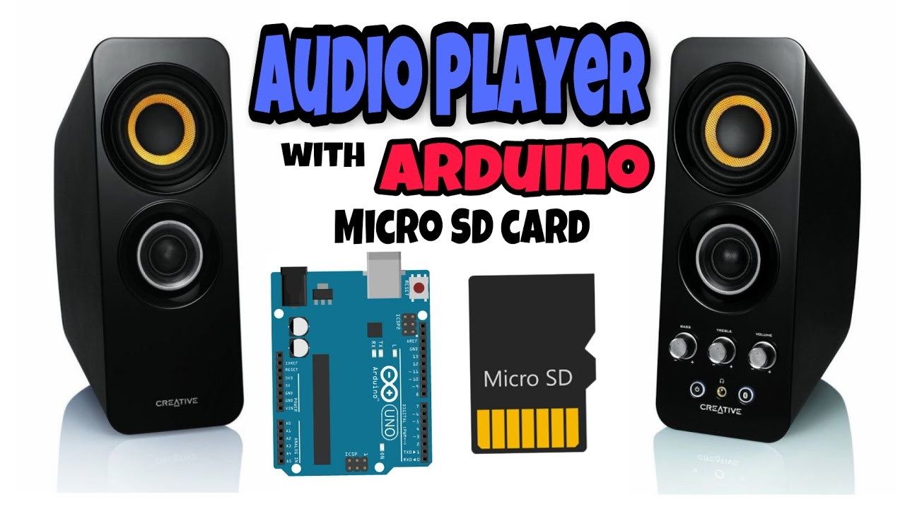 Audio Player Using Arduino With Micro SD Card: 7 Steps (with Pictures)