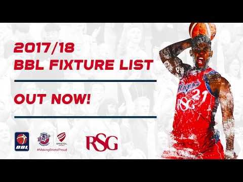 Bristol Flyers' 2017/18 Fixture List Revealed