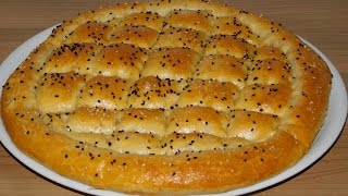 Турецкий хлеб. Лепёшки по турецки.