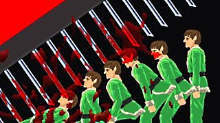 MURDERING A JELLY ARMY! (Happy Wheels Funny Moments)