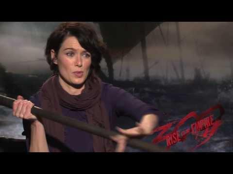 300 Rise Of An Empire Interviews: Lena Heady, Eva Green, Jack O'Connell, Callan Mulvey