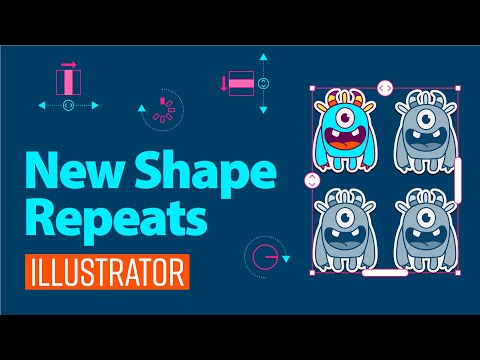 how to set repeat in illustrator | 2021 New Feature