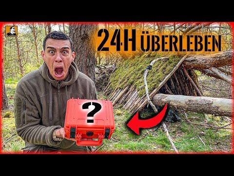 24H ÜBERLEBEN mit dem UNBEKANNTEN Paket von Fritz Meinecke | Survival Mattin