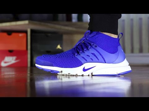 64a38ed8d1e Nike Air Ultra Flyknit Presto Review and On Feet (vs Nike Sock Darts)
