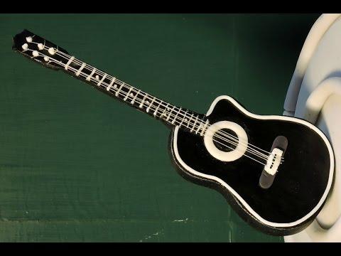 Guitarra De Fondant Y Pasta De Goma Para Pastel Recetasdeluzma